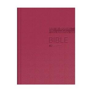 Bible ČEP DT-velký formát, pevná vazba, vínová
