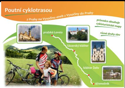 Poutní cyklotrasou z Prahy na Vysočinu aneb z Vysočiny do Prahy