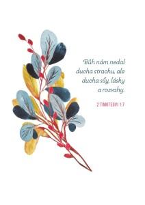 2. Timoteovi 1;7-dopisnice