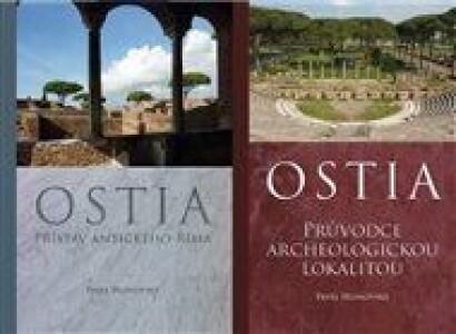 Ostia - komplet: Svazek 1:Přístav antického Říma, svazek 2: Průvodce archeologickou lokalitou