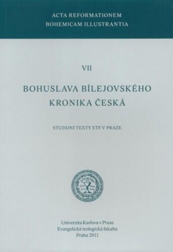 Bohuslava Bílejovského kronika česká