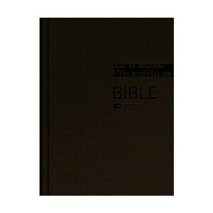 Bible ČEP DT velký formát, pevná vazba, hnědozlatá /vzor 1261/