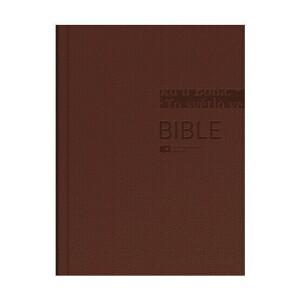 Bible ČEP DT střední formát, pevná vazba, hnědá /vzor 1271/